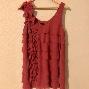 Pink Ruffle top/dress